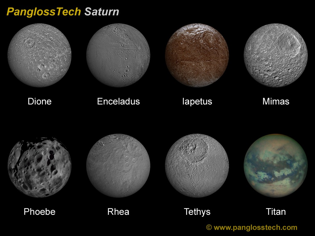 Saturn Moon's List Names and Pictures (page 2) - Pics ...